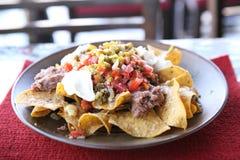 Beef nachos Stock Photo