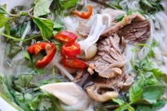 Beef noodle Stock Image