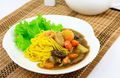 Beef Noodle Royalty Free Stock Photos