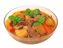 Beef noodle Stock Photos