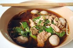 Beef noodle Stock Photography