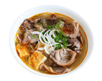 Beef Noodle Royalty Free Stock Photography