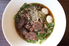 Beef noodle Royalty Free Stock Images
