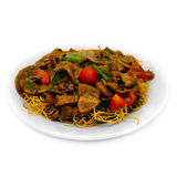 Beef & Noodle Mix stock image