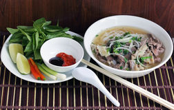 Beef Noodle Pho Stock Images