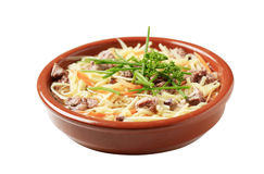 Beef Noodle Soup Stock Image