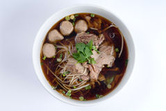 Beef noodle soup Royalty Free Stock Photos