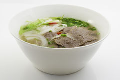 Beef noodle soup Royalty Free Stock Photography