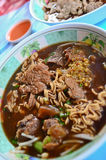 Beef noodle Thai style Royalty Free Stock Image