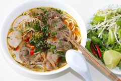 Beef Noodles Stock Photography