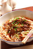 Beef noodles Royalty Free Stock Image
