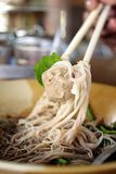 Beef noodles in soup Royalty Free Stock Photography