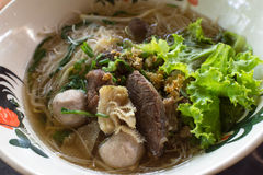 Beef Noodles Soup Royalty Free Stock Photo