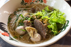 Beef Noodles Soup Royalty Free Stock Photos