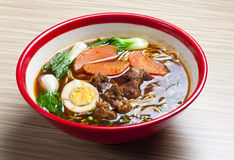 Beef noodles Stock Images