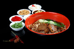 Beef noodles Royalty Free Stock Photo