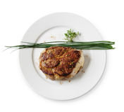 Beef osobuko (osso bucco) Royalty Free Stock Photo