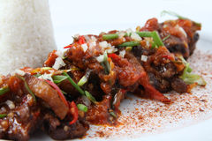 Beef oxtail asian food Royalty Free Stock Photo