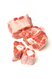 Beef oxtail cut meat Royalty Free Stock Image