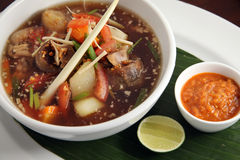 Beef oxtail soup asian food Royalty Free Stock Photography