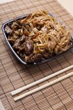Beef in oyster sauce Stock Photography