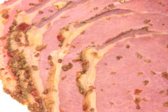 Beef Pastrami Isolated Royalty Free Stock Images