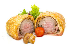 Beef in pastry Royalty Free Stock Photo