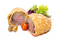 Beef in pastry Stock Photography