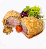 Beef in pastry Stock Photos