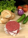 Beef Patties Stock Photo
