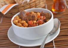 Beef and peanut stew Royalty Free Stock Image