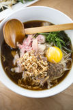Beef Pho Noodle Soup Royalty Free Stock Photography