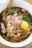 Beef Pho Noodle Soup Royalty Free Stock Photo
