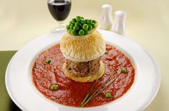 Beef Pie Floater Royalty Free Stock Photos