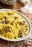 Beef pilaf Royalty Free Stock Image