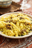 Beef pilaf Stock Image