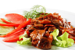 Beef Plate Stock Photo