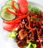 Beef Plate Royalty Free Stock Image