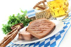 Beef and pork loaf Royalty Free Stock Photo