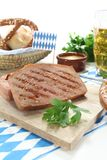 Beef and pork loaf Stock Image