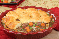 Beef Pot Pie Royalty Free Stock Image