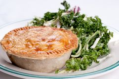 Beef pot pie Royalty Free Stock Images
