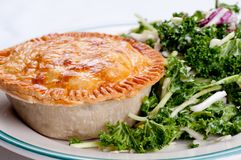 Beef pot pie Royalty Free Stock Photography