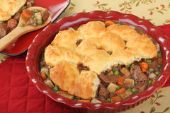 Beef Pot Pie Meal Royalty Free Stock Image