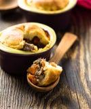Beef pot pie in ramekin Royalty Free Stock Photo