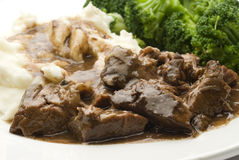 Beef pot roast with vegetables Royalty Free Stock Image
