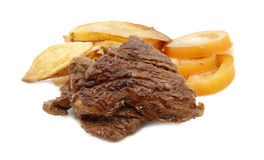 Beef and potato Stock Images