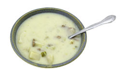 Beef Potato And Cheese Soup Stock Images