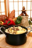 Beef and Potato Chowder royalty free stock photo