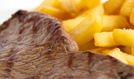 Beef and potatoes Royalty Free Stock Image